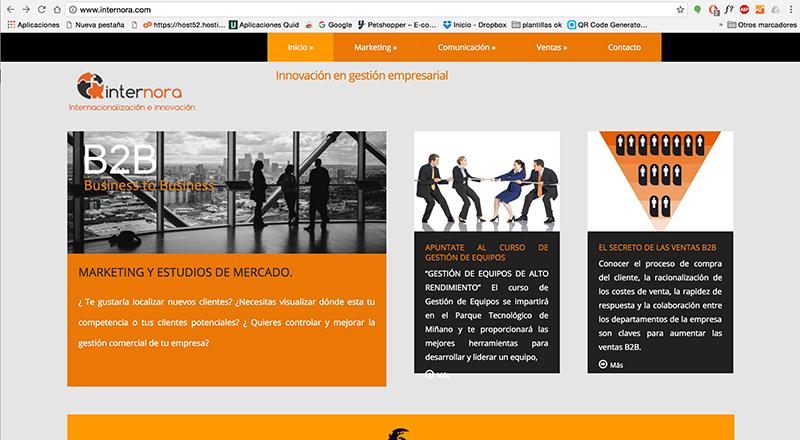Optimización web internora