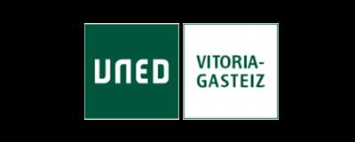 logotipo uned vitoria