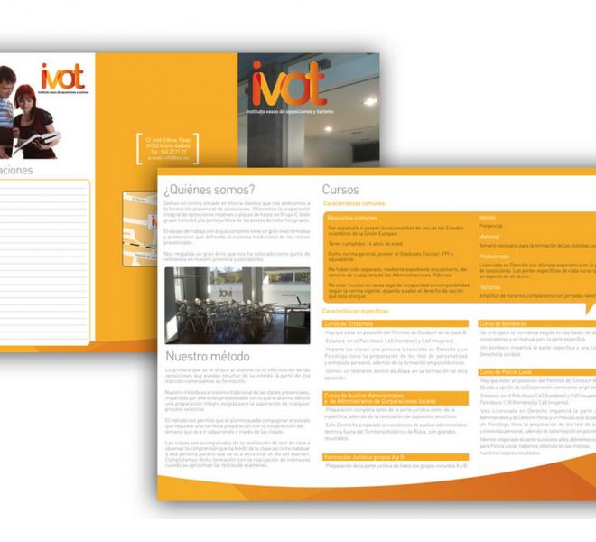 página web Ivot