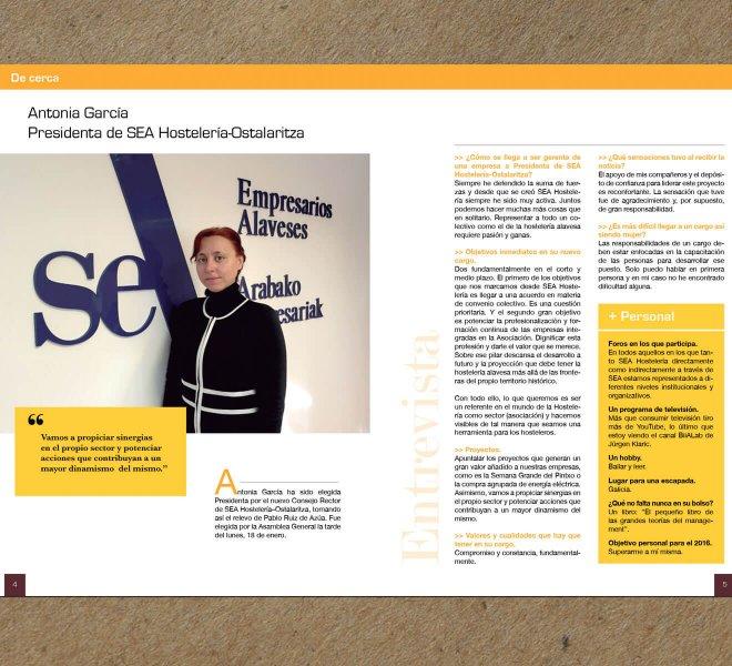 Diseño y maquetación revista BK Magazine