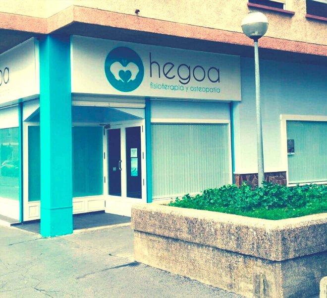 Imagen corporativa Hegoa Fisioterapia