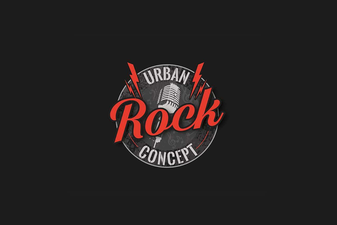 Diseño de logotipo Urban Rock Concept