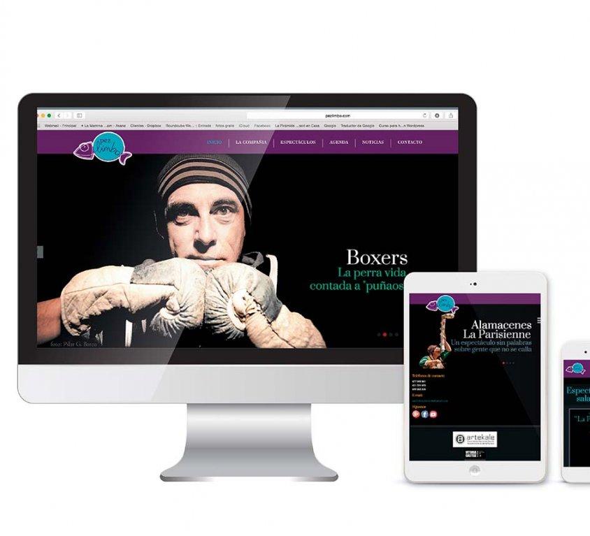 Diseño y desarrollo de página web para Pez Limbo