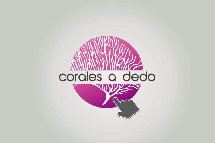 Diseño logotipo Corales a Dedo