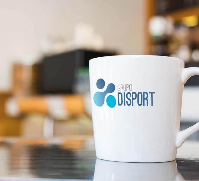Logotipo Grupo Disport