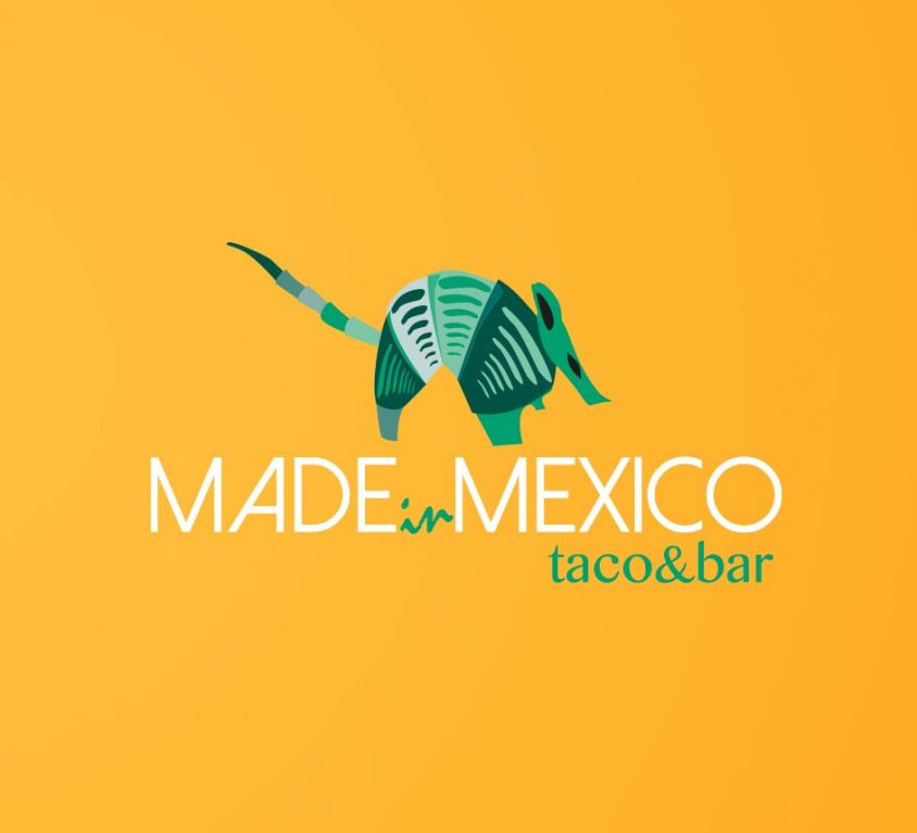 Logotipo restaurante Made In Mexico