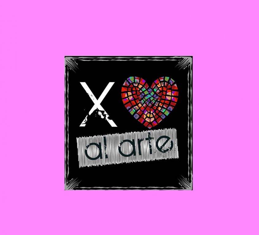 Diseño de logotipo X amor al arte
