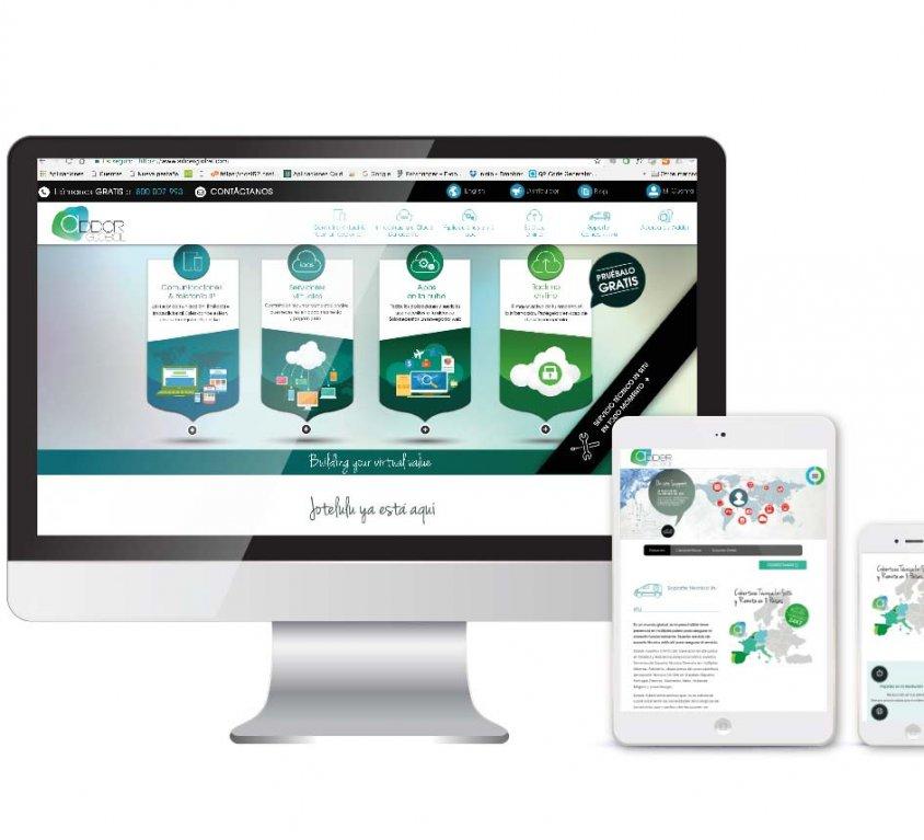 Diseño y desarrollo web Adder Global