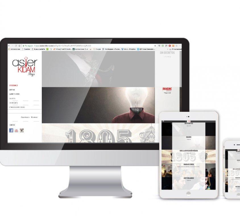 Diseño y desarrollo web Asier Kidam