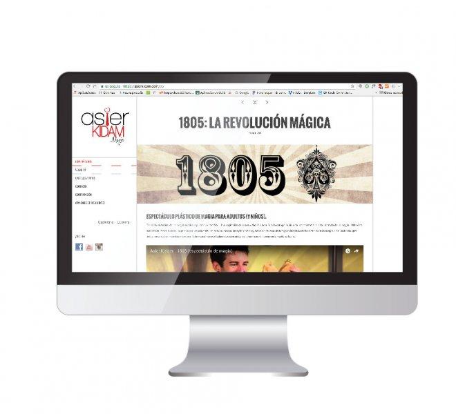 Diseño web Asier Kidam