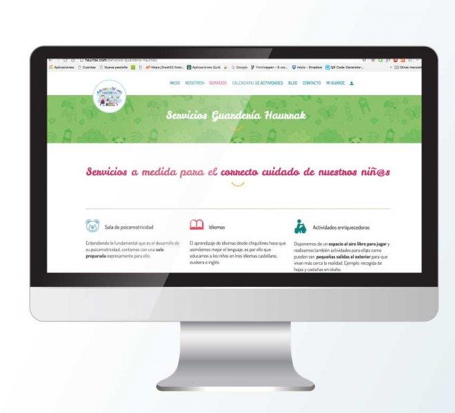 web guardería Niños