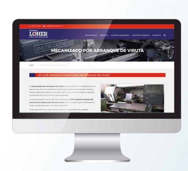 web Industrias Loher