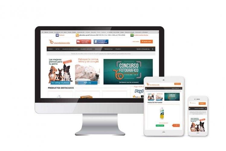 Diseño y desarrollo de tienda online Prestashop para Mundomascota