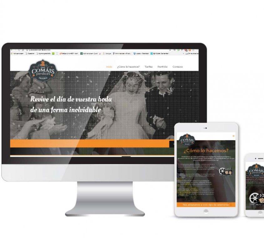 Diseño y desarrollo web Que comáis perdices