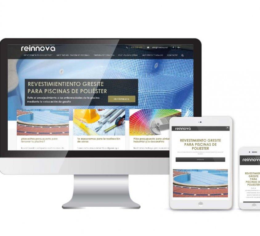 Diseño, desarrollo y posicionamiento SEO web Reinnova