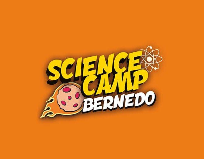 diseño logo science camp bernedo
