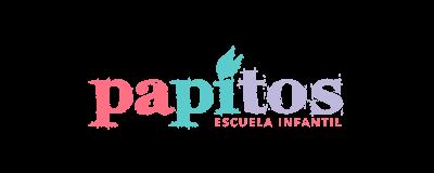 Logotipo Escuela infantil Papitos