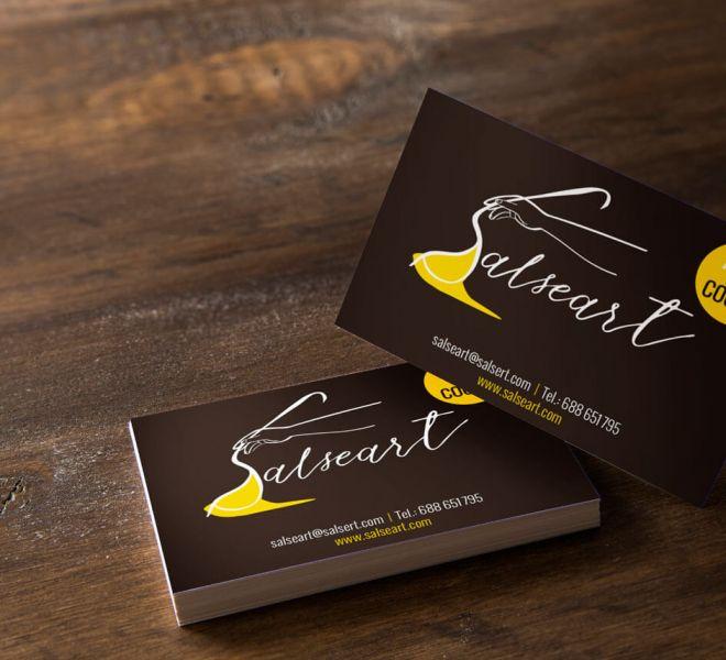 Diseño de tarjeta de visita Salseart