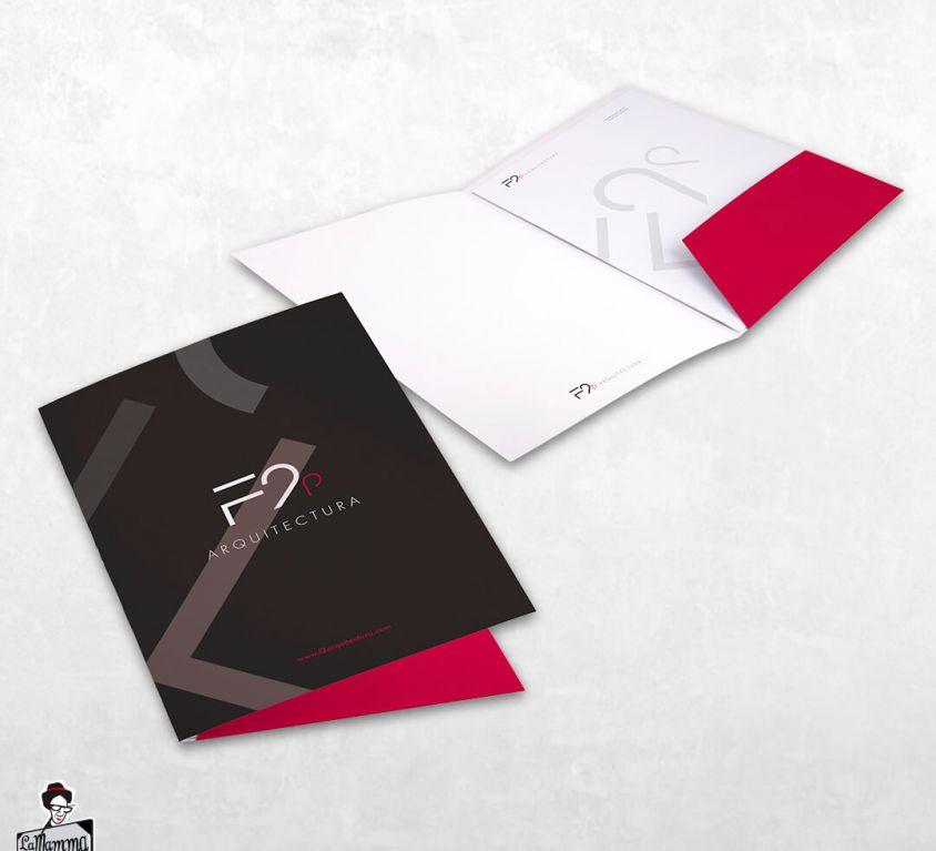 Diseño identidad corporativa F2 Arquitectura