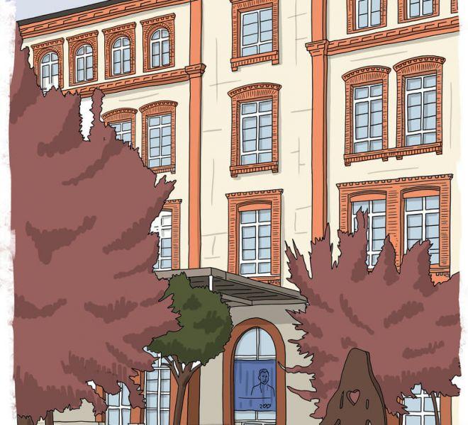 ilustracion-fachada-colegio-corazonistas-vitoria-gasteiz