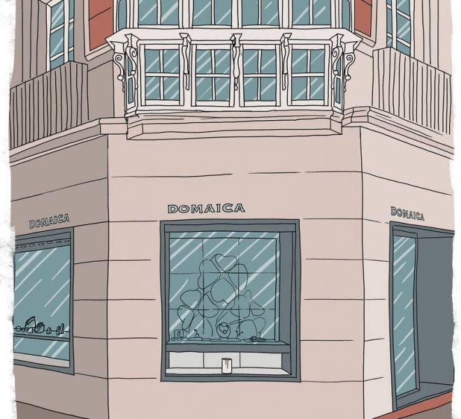 ilustracion-fachada-joyeria-domaica-vitoria-gasteiz