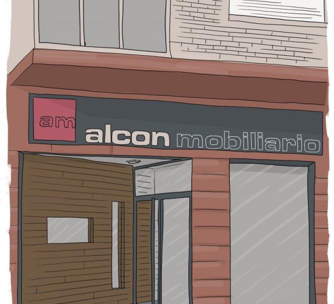 ilustracion-fachada-muebles-alcon-vitoria