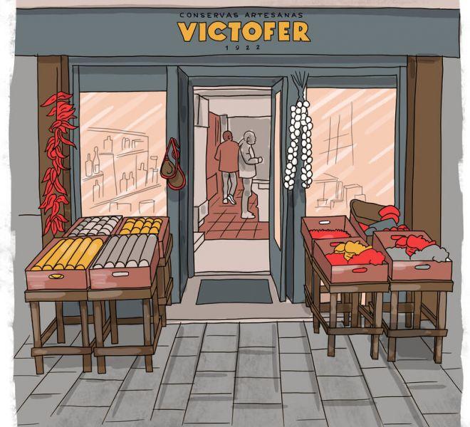 ilustracion-fachada-victofer-vitoria-gasteiz